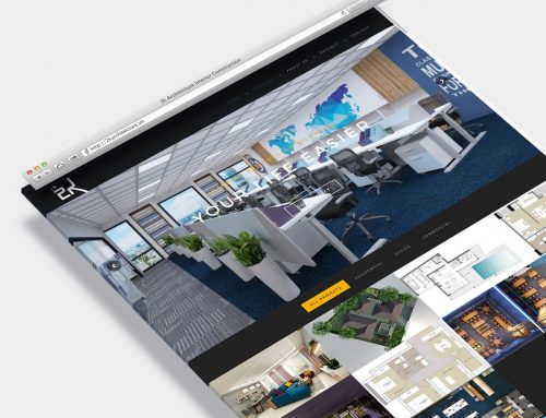 2K Architecture web design